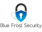 Banner bluefrostsecurity.de