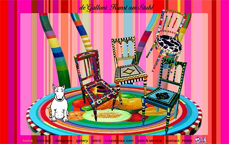 de galloni: Kunst am Stuhl