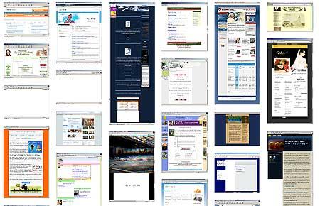 aktuelle Browsershots