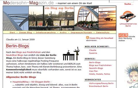 Modersohn-Magazin - ein Berlin-Blog