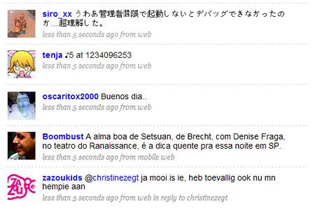 """Everyone - Botschaften """"aller"""" bei Twitter"""