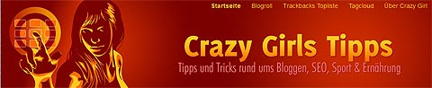Website-Header Crazy Girls Tipps