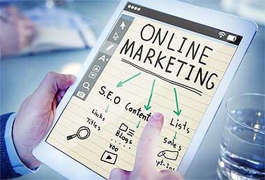 Symbolbild Onlinemarketing
