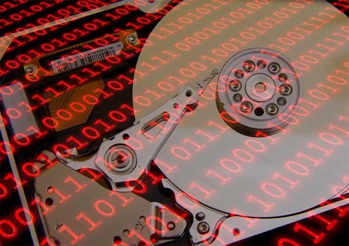 Festplatte Daten Symbolbild
