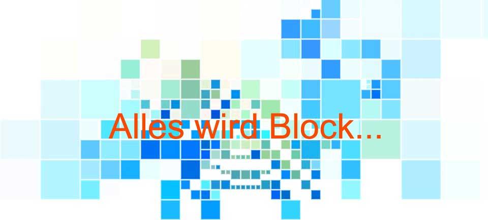 "Symbolbild ""Alles wird Block"""