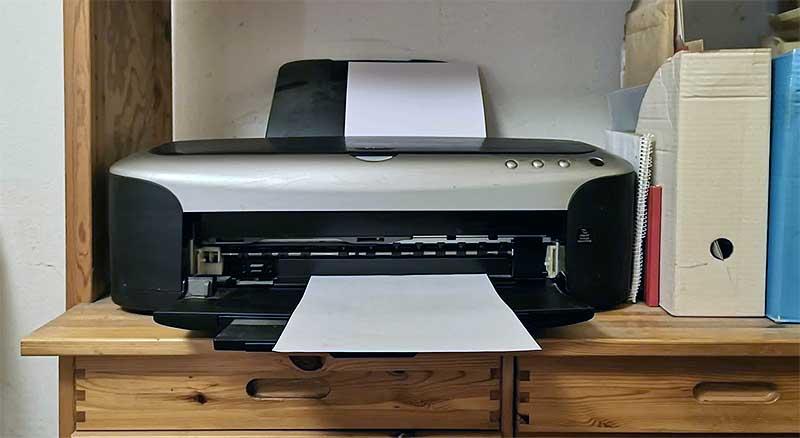 mein alter Drucker